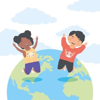 Célébration de la journée mondiale des enfants