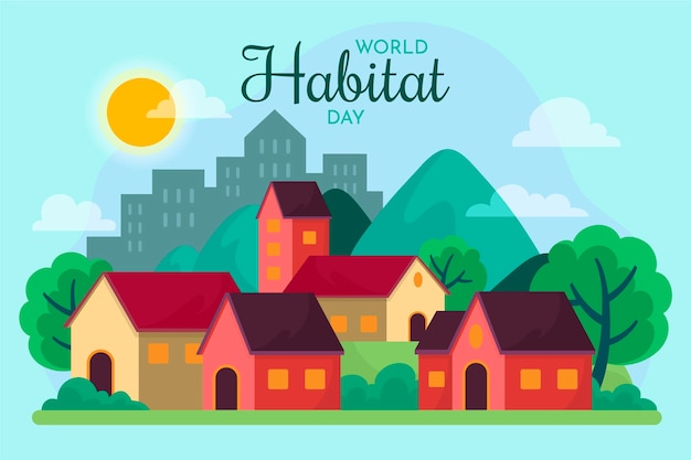 Célébration de la journée mondiale de l'habitat