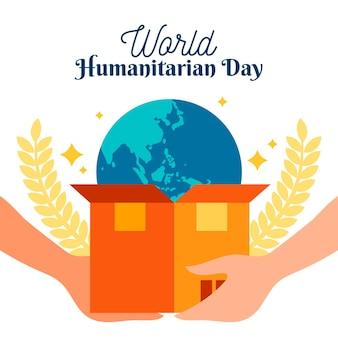 Célébration de la journée mondiale de l'humanitaire