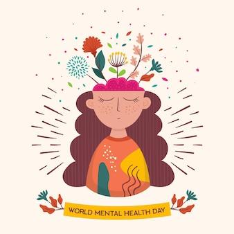 Célébration de la journée mondiale de la santé mentale