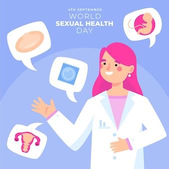 Célébration de la journée mondiale de la santé sexuelle