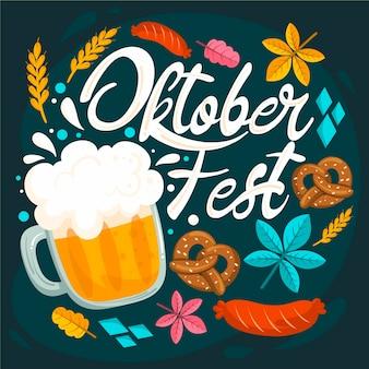 Célébration de l'oktoberfest