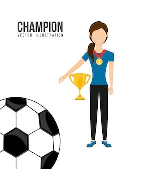 Célébrer le champion