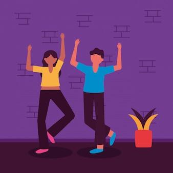 Célébrer la conception de jeunes heureux