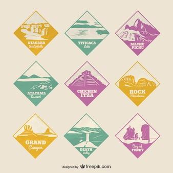 Célèbres sites naturels