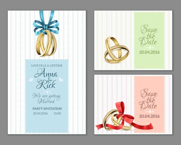 Célébrez les cartes de mariage d'invitation