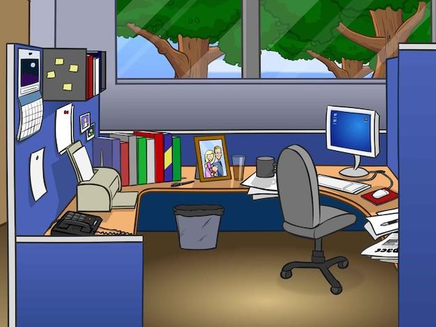 Cellule de bureau