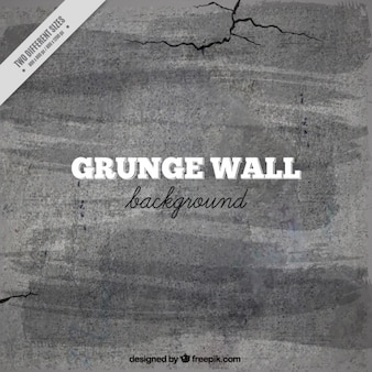 Cement wall background avec des fissures