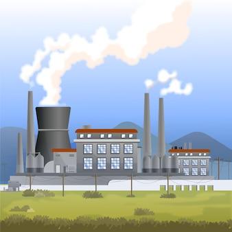 Centrale électrique réaliste
