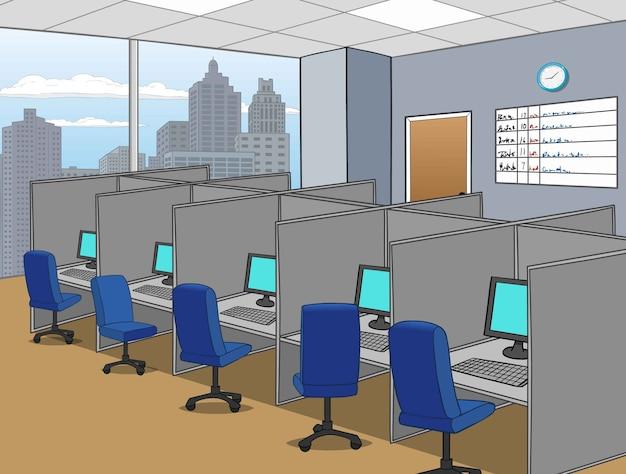 Centre d'appels de bureau