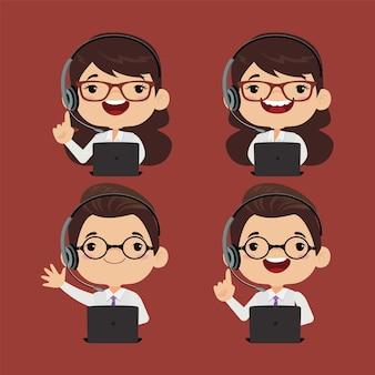 Centre d'appels et caractère du service client