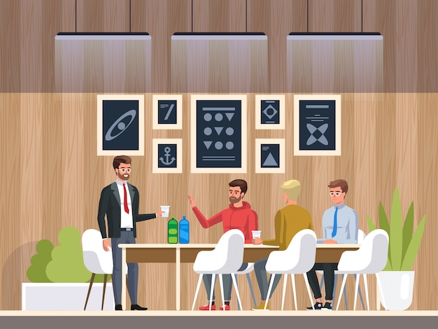 Centre de coworking de bureau créatif
