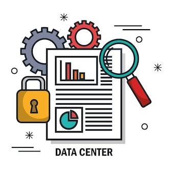 Centre de données de sécurité document isolé