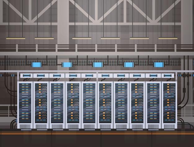 Centre de données serveur d'hébergement de la base de données d'informations sur l'ordinateur technologie de synchronisation