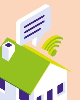Centre wifi maison intelligente