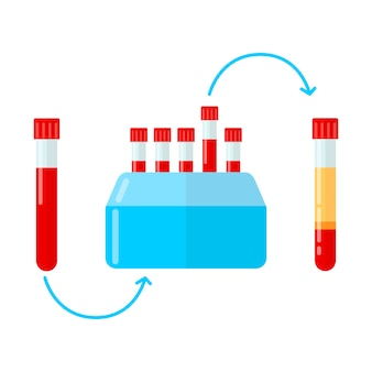 Centrifugeuse pour la fabrication de plasma en mésothérapie