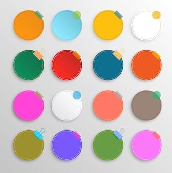 Cercle coloré situé à fond de célébration.