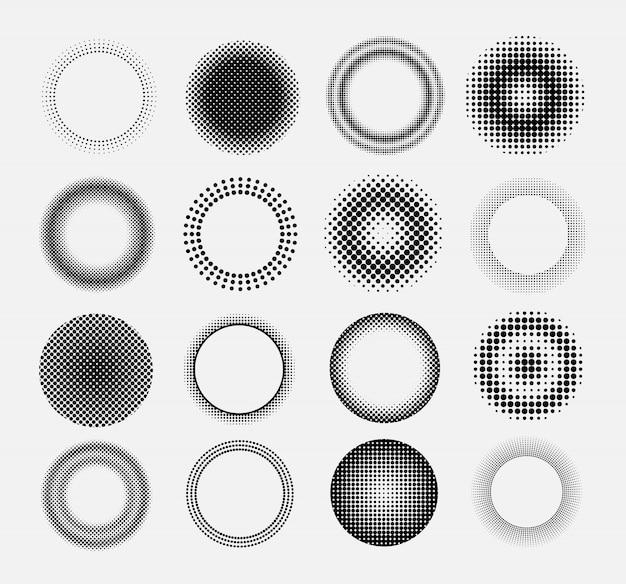 Cercle de demi-teintes