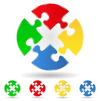 Cercle de puzzle