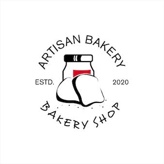 Cercle timbre artisan boulangerie pain fait maison