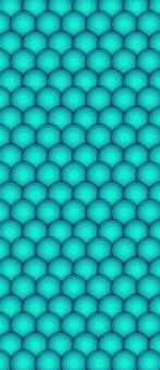 Cercles colorés abstraits en fond de texture de style minimaliste