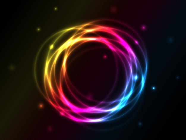 Cercles de vecteur abstrait