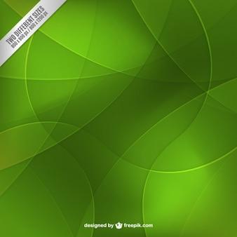 Les cercles verts arrière-plan