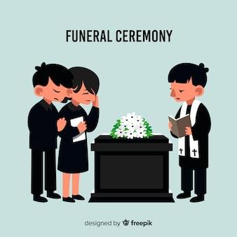 Cérémonie funéraire