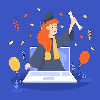Cérémonie de remise des diplômes virtuelle