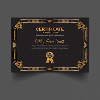 Certificat international floral