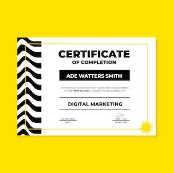 Certificat de marketing numérique ade moderne
