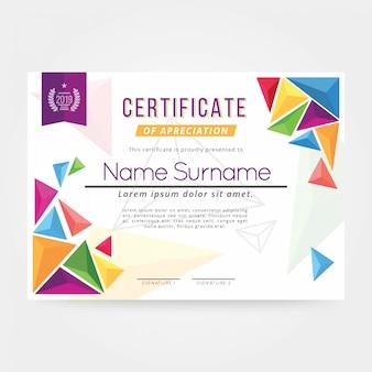 Certificat de résumé