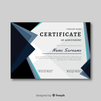 Certificat de réussite