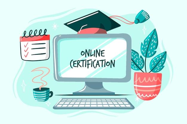 Certification en ligne