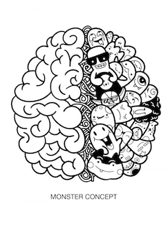 Cerveau humain créatif