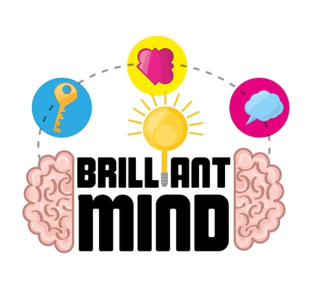 Cerveau inspiré de grandes idées