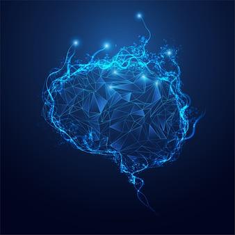 Cerveau polygone