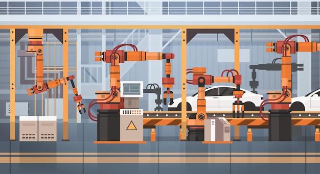 Chaîne de montage automatique de convoyeur de production automobile