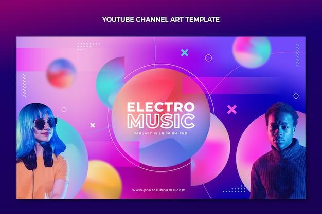 Chaîne youtube du festival de musique à texture dégradée