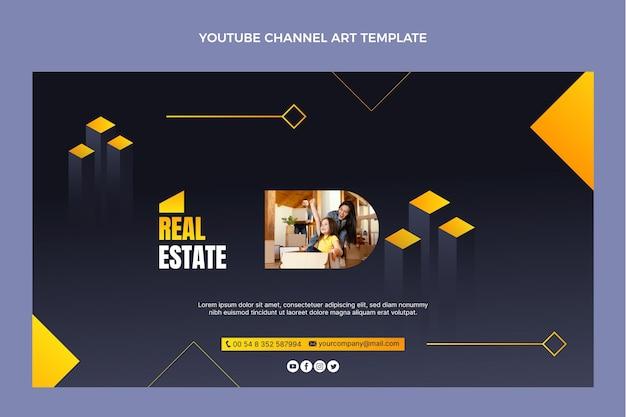 Chaîne youtube de l'immobilier dégradé