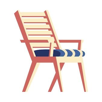 Chaise de pique-nique en bois