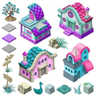 Chalets et blocs