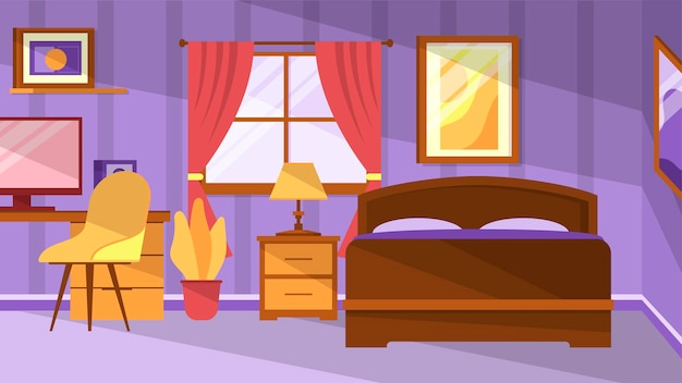Chambre à coucher - scènes d'intérieur
