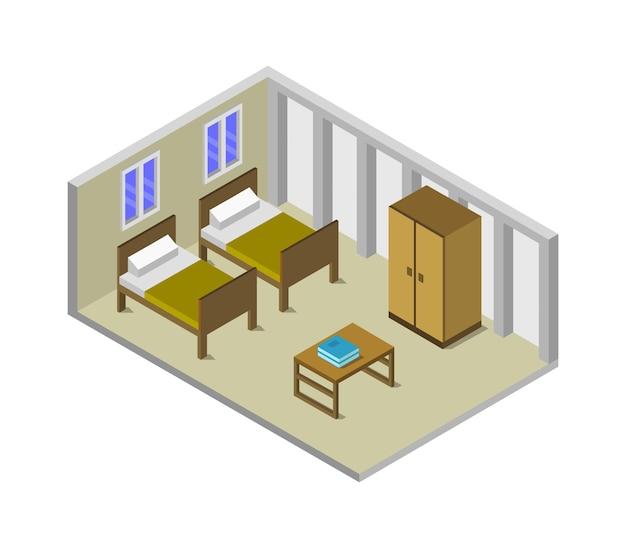 Chambre isométrique