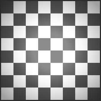 Champ d'échecs noir