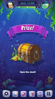 Champ de prix de format mobile mahjong fish world au jeu vidéo
