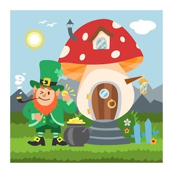 Champignon gnome fantastique