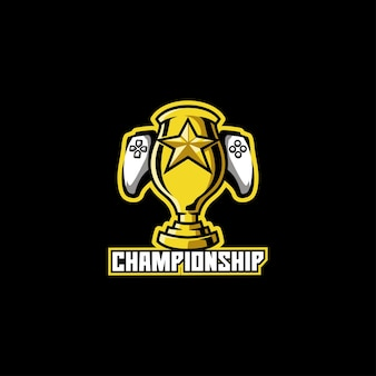 Champion de la coupe du vainqueur du match de football de compétition de championnat