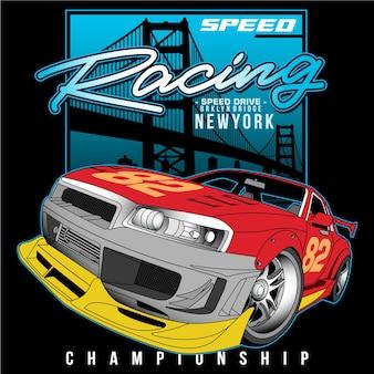 Champion de vitesse dans la ville