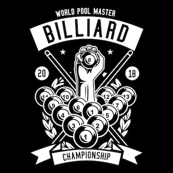 Championnat de billard